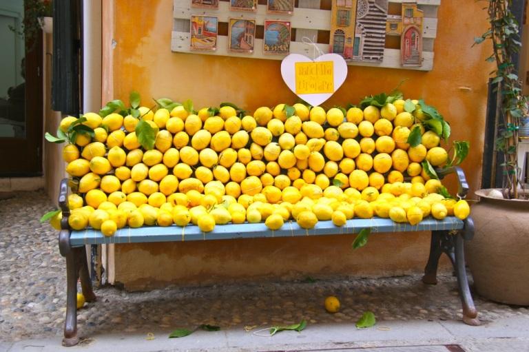 Lemon Bench. Photo Vivie Bjørnstad