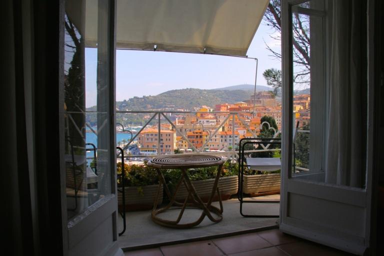Utsikt fra balkong