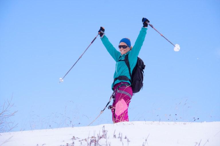 Første skitur-2