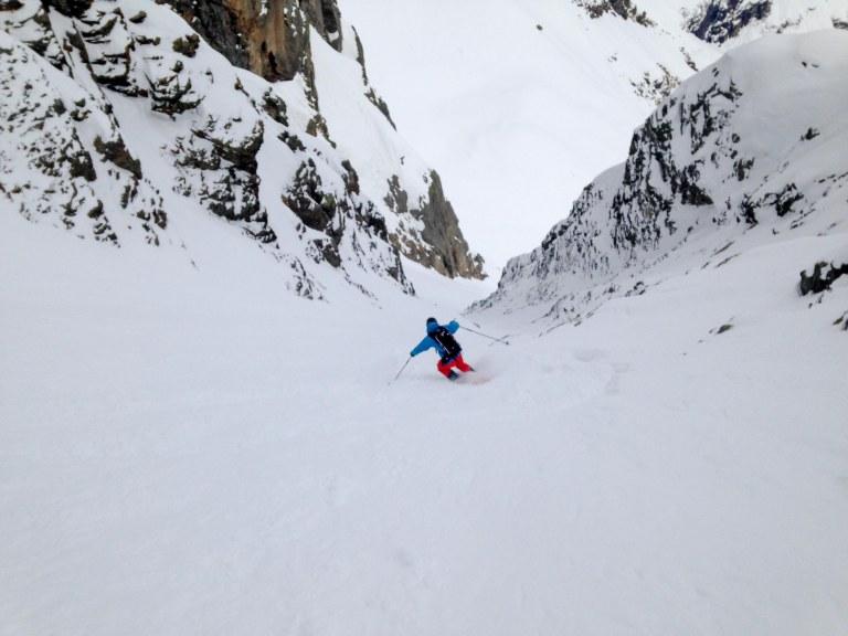 Øyvind skiing Likke