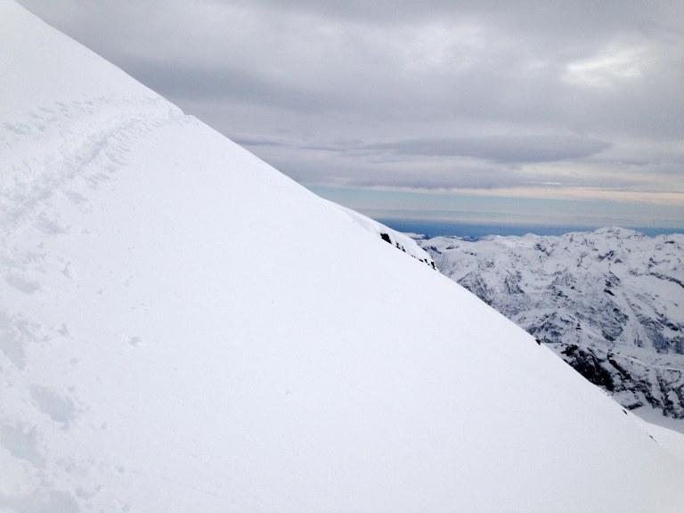 Utsikt til Posletten-Val Padana