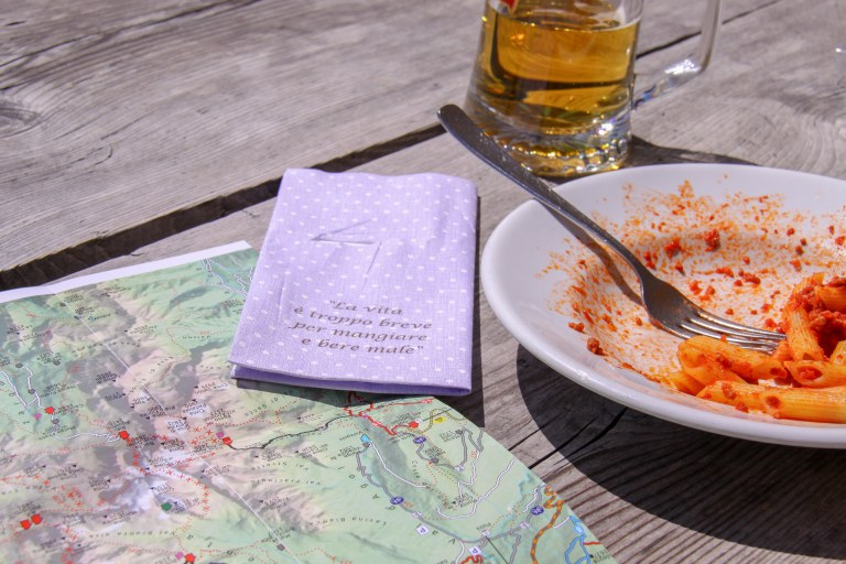 Lunch på Alimonta
