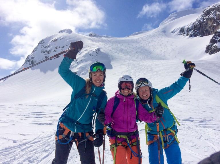 Vivie, Anja og Trude